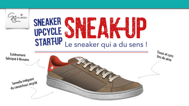 SNEAK UP sneaker éco-conçu